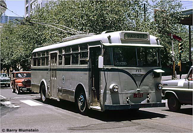 Latin America S Trolleybuses